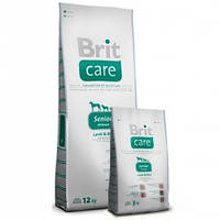 Brit Care Senior All Breed Lamb & Rice 12 кг-для пожилых собак.