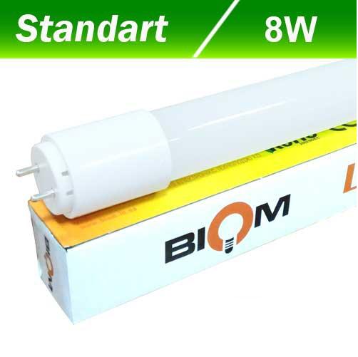 Светодиодная лампа Biom T8-GL-600-8W NW 4200K G13