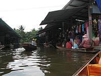 Плавучий рынок в Бангкоке, Таиланд. Фото наших туристов