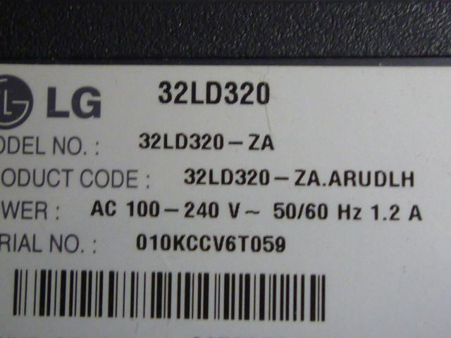 Плати від LCD LG 32LD320-ZA (по блоках).