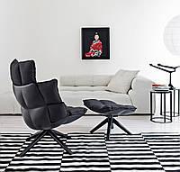 Кресло вращающееся B&B Italia Husk, фото 1