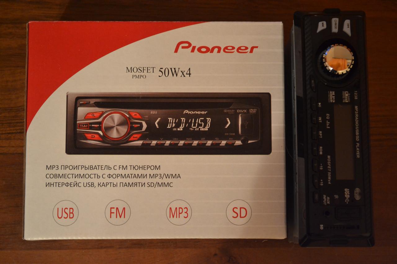 Магнитола PIONEER MP3/ FM/ USB/ SD