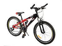 Велосип Азимут Вальянт 24 дюйма алюминиевый Azimut Valiant горный,  хардтейл