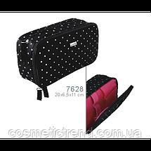 Косметичка женская двойная Reed Pink Surprise 7628 (Польша) 20*6.5*11 см, фото 3