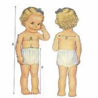 Все о размерах детской одежды