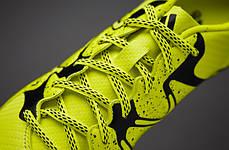 Сороконожки Adidas X 15.3 TF B32972 Салатовые адидас икс (Оригинал), фото 2