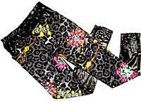 Лосины-брюки с карманами под кожу Польша M-L,XL-XXL