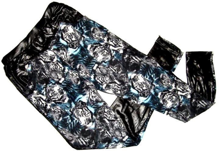 Лосины-брюки с карманами под кожу Польша XL-XXL