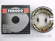 FSB704 Барабанные тормозные колодки Ferodo для мотоцикла HONDA,YAMAHA,PEUGEOT 110x25mm