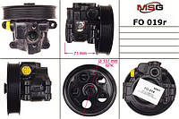 Насос Г/У восстановленный FORD Fiesta 2001-2009,FORD Fusion 2001-2009,FORD Mondeo III 2000-2007   MSG - FO 019R
