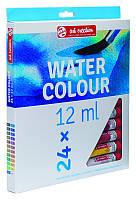 Набор акварельных красок, ArtCreation, 24цв. по 12 мл, Royal Talens