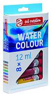 Набор акварельных красок, ArtCreation, 8цв. по 12 мл, Royal Talens