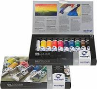 Набор масляных красок Royal Talens Van Gogh 10 цветов по 20 мл