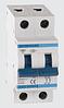 Автоматичний вимикач автомат 80 А ампер двухфазний двухполюсний С C характеристика ціна купити Європа