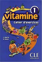 Vitamine 1 Cahier d'exercices + CD audio