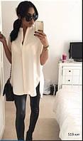Женская Блузка - туника 519 кэт