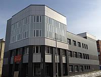 Вентилируемые фасады, кассетные вентилируемые фасады, фасадные панели Киев, вентилируемый фасад Киев монтаж