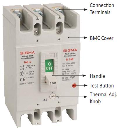 Автоматический выключатель автомат 250 А ампер Европа а цена купить 36 кА