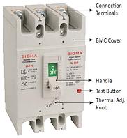 Автоматический выключатель автомат 250 А ампер Европа а цена купить 36 кА, фото 1