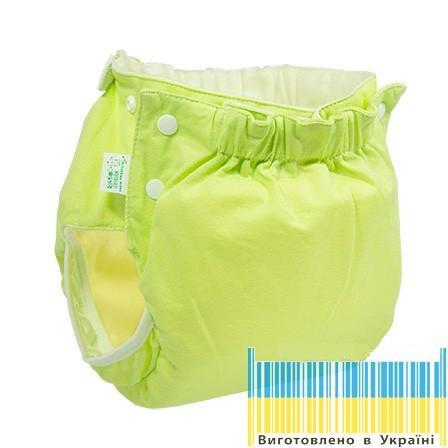 Eco Подгузник многоразовый Premium Active 6-12кг Памперс натуральний + вкладыш - Sling-sling.com.ua - з любов'ю до малечі в Львове