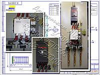 П5430, П5431, П5432 панели управления асинхронными двигателями с к. з. ротором, фото 1