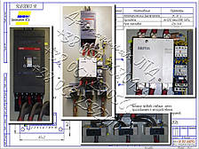 П5430, П5431, П5432 панели управления асинхронными двигателями с к. з. ротором, фото 2