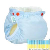 Eco Подгузник для новорожденных Premium Active 3-7кг Памперс многоразовый натуральний + вкладыш, фото 1