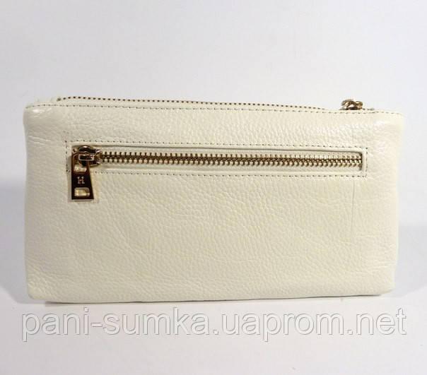 3ecf05f257e4 Кошелек-клатч кожаный Hermes 1905 белый, расцветки в наличии, цена ...