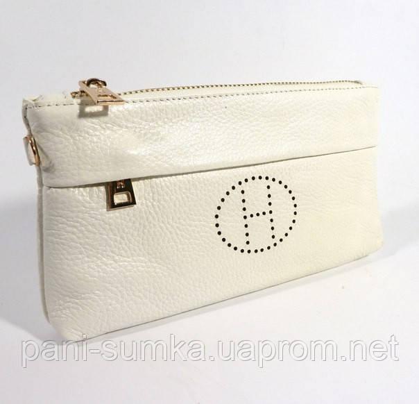 4178593a1b0b Кошелек-клатч кожаный Hermes 1905 белый, расцветки в наличии ...