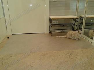 Установка защитного прозрачного ковра в помещении 14