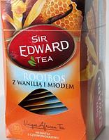 Чай ройбуш,ваниль, мёд пакетированный Sir Edward Tea Rooibos 20пак (Польша)