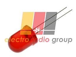 Светодиод 10мм красный диффузный   50-100мКд 10AR4HD