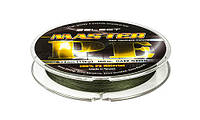 Шнур Select Master PE 150m 0.08 темн. зел.