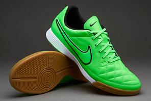 Футзалки Nike Tiempo Genio LEATHER IC 631283-330, Найк темпо (Оригинал), фото 2