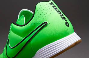 Футзалки Nike Tiempo Genio LEATHER IC 631283-330, Найк темпо (Оригинал), фото 3