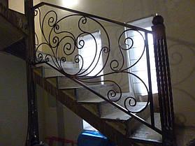 Кованая лестница 4