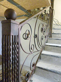 Кованая лестница 5