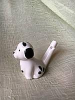 Собачка керамическая (свистулька)