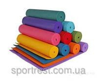 Коврик для йоги и фитнеса. Размеры:173см*61см*4 мм