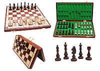 Деревянные шахматы магнитные