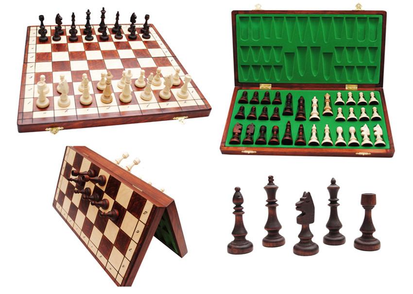 Деревянные шахматы магнитные - Сувениры и бижутерия в магазине подарков Поле Чудес в Киеве
