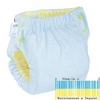 Eco Подгузник многоразовый Premium карман Памперс натуральний + вкладыш