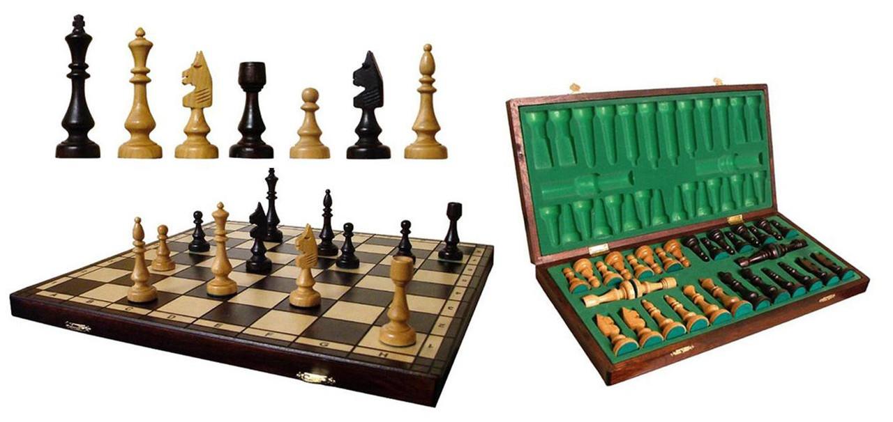 Шахматы из дерева - Сувениры и бижутерия в магазине подарков Поле Чудес в Киеве