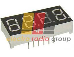 Светодиодн. индикатор 4 разряда E40361-L-O-8-W