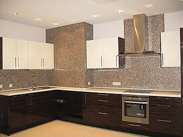 Кухня под заказ в стиле модерн Днепропетровск.
