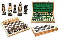 Деревянные шахматы ручной работы