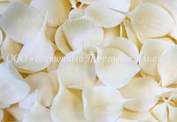 Посыпки из шоколада — Листья белые (1,5 кг/уп)