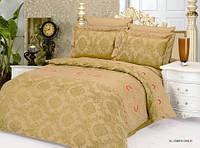 Комплект жаккардового постельного белья Le vele elizabeth gold