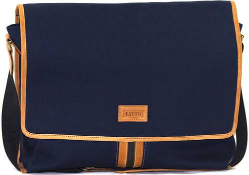 Мужская практичная вместительная сумка через плече из текстиля VATTO MТ32HL2KR190