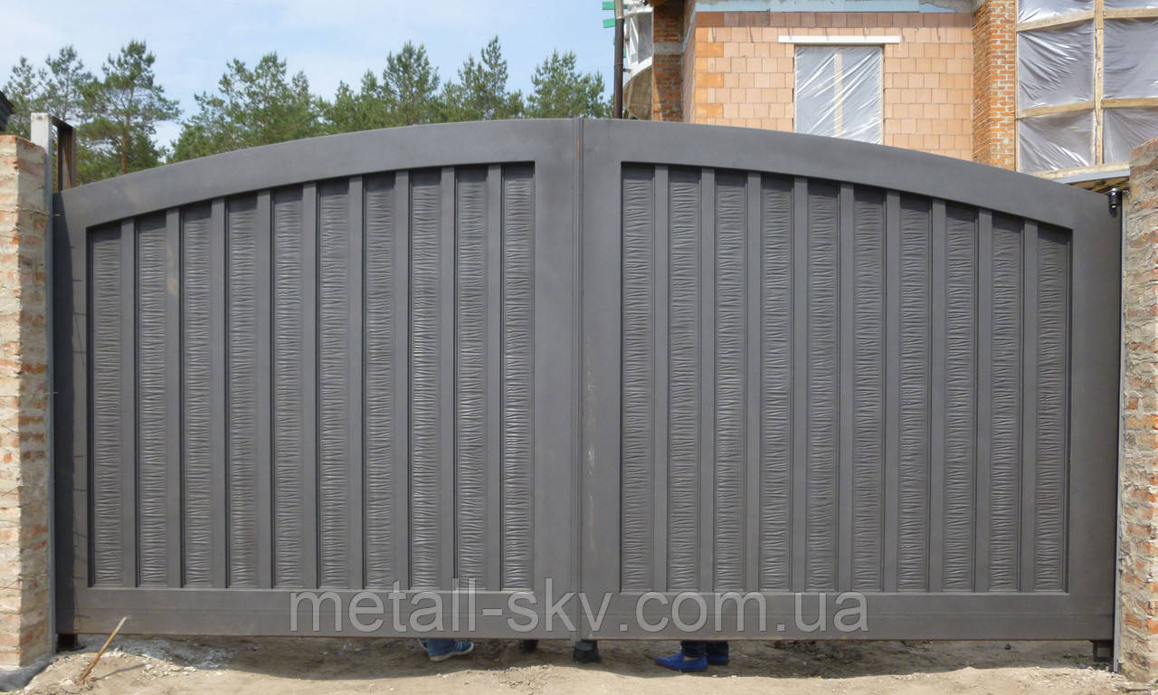 Ворота жаті металеві Hi Tech